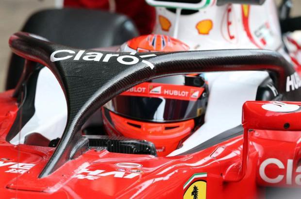Ferrari halo 2016