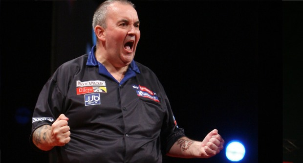 phil taylor 2010 - credit darts planet tv