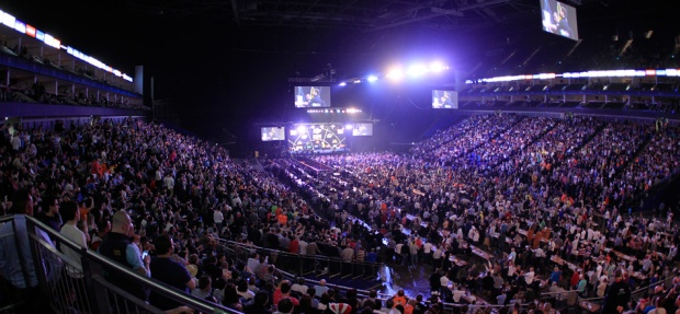 the o2 premier league darts - credit the o2