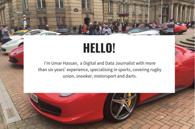 New Welcome banner - umarthejourno